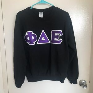 Phi Delta Epsilon medical fraternity sweatshirt